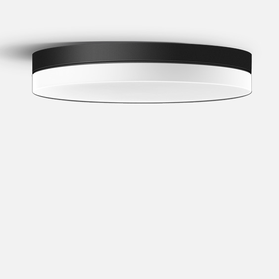 Ceiling and wall luminaire