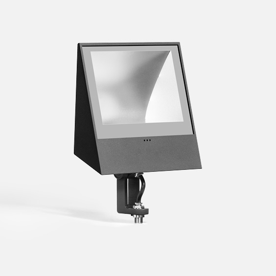 "Floodlight with 1/2"" I.P.S. nipple"