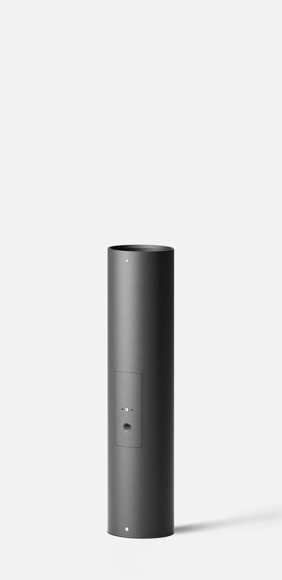 Integral emergency lighting battery