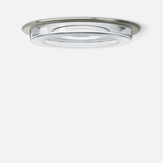 Semi-recessed downlight