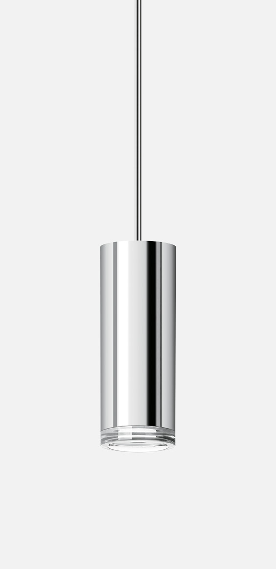 Pendant with rod suspension