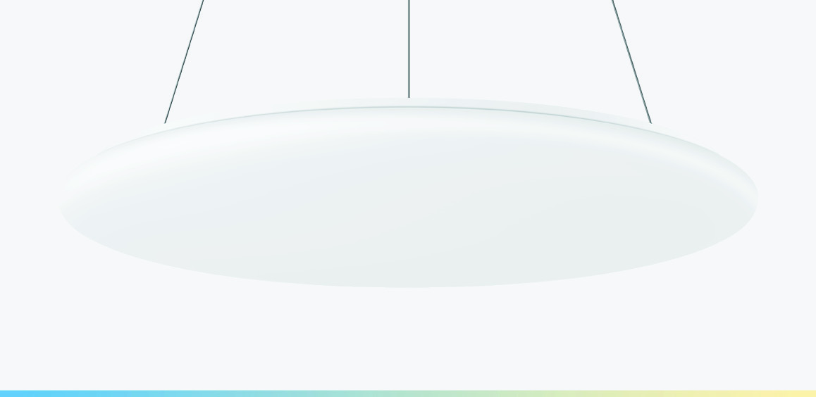 Large-area pendant luminaire
