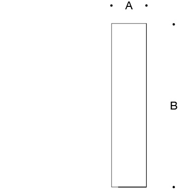 Bollard tube · Integral floodlight