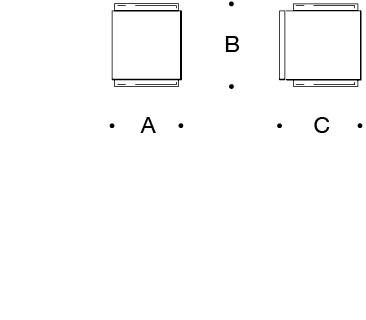 Light emission on two sides