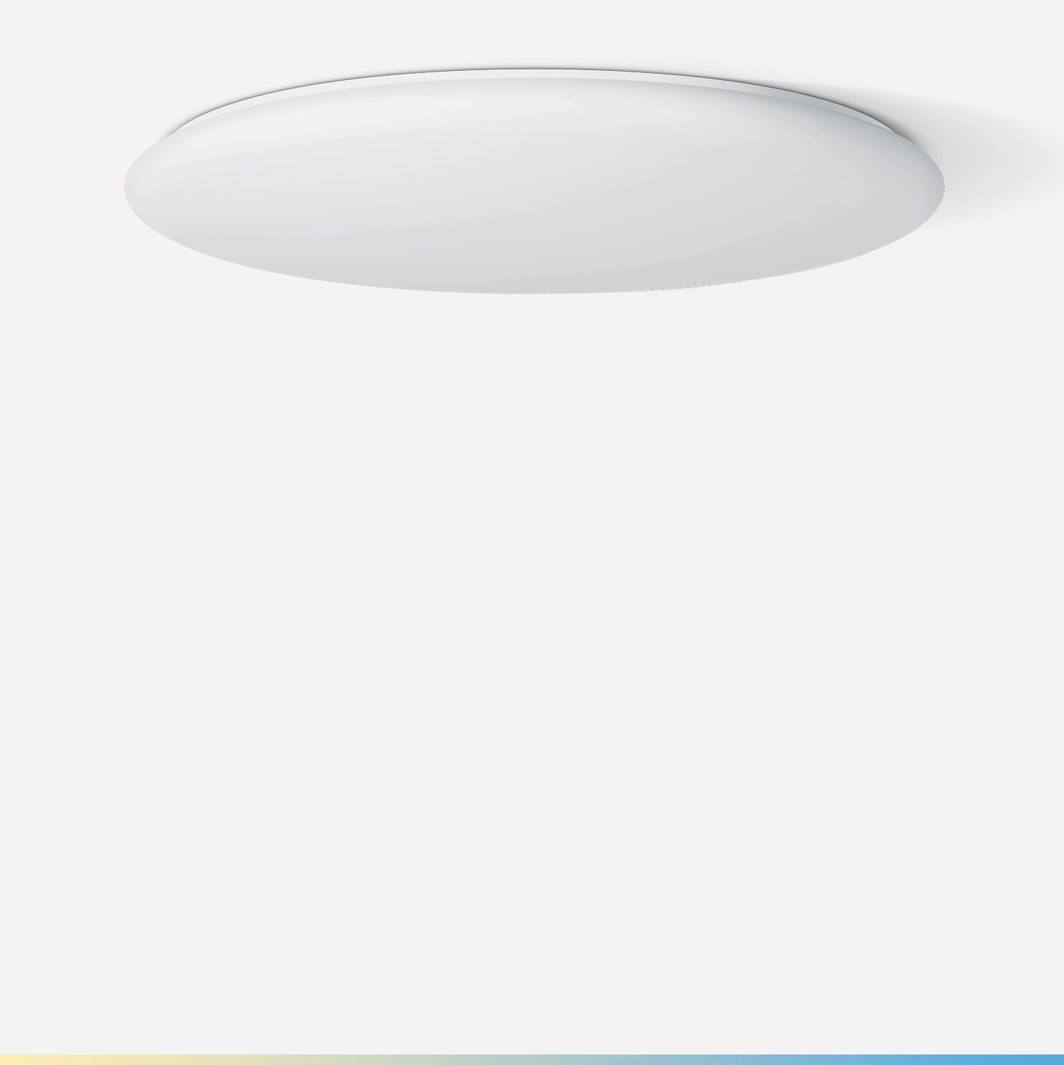 Large-area ceiling and wall luminaire