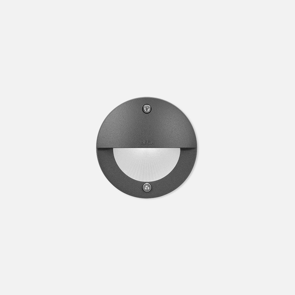 Recessed wall luminaire