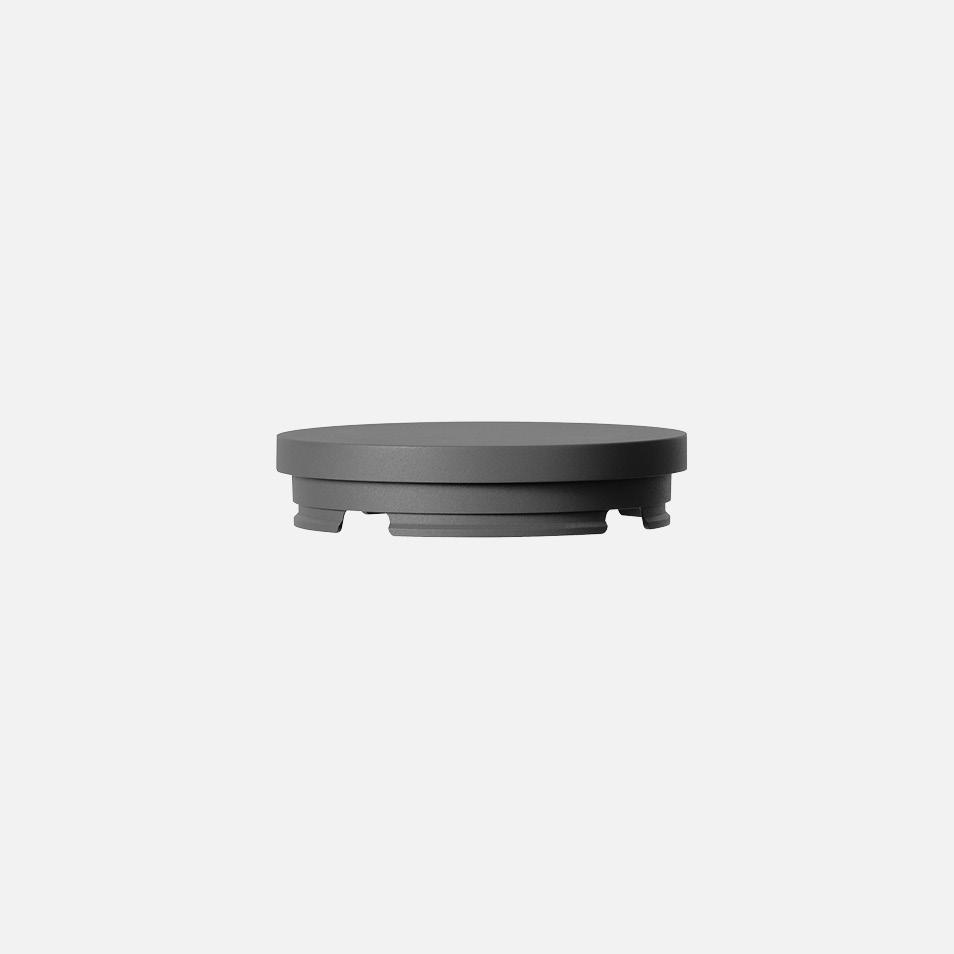 Bollard head · Non-illuminated cap