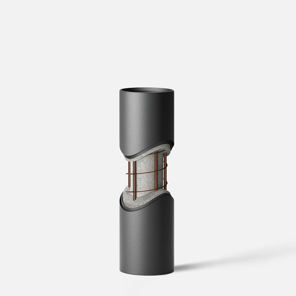 Bollard tube · Drive-through protection