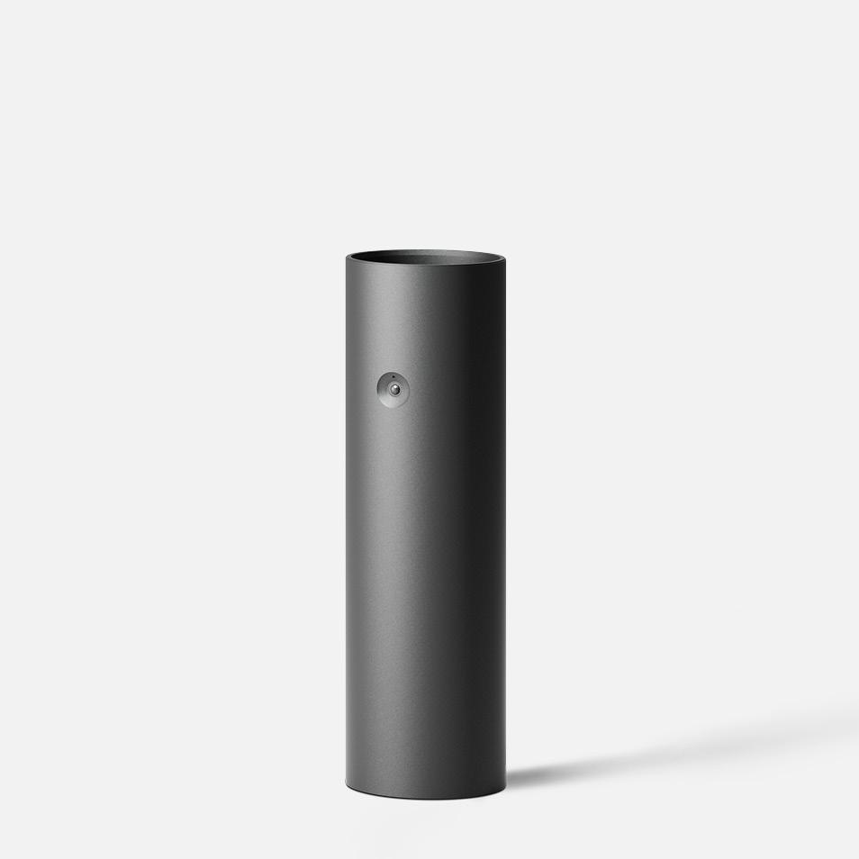 Bollard tube · Integral PIR motion sensor